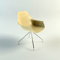 COX CHAIR: Vray / Mentalray Materials