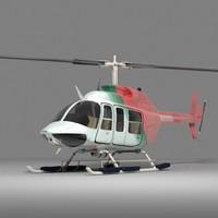 Jet Ranger Helicopter