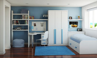 3ds childrens bedroom