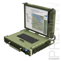 Rugged military outdoor laptop