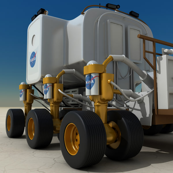 NASA Lunar Rover Model (page 3) - Pics about space