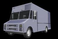 3d model step van