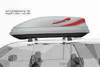3d model roof box