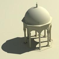 3d dome gazebo