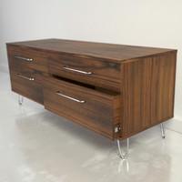 3d model midcentury dresser