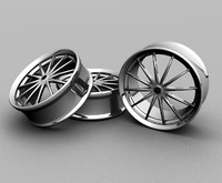 Steel 12 spokes custom RIMS