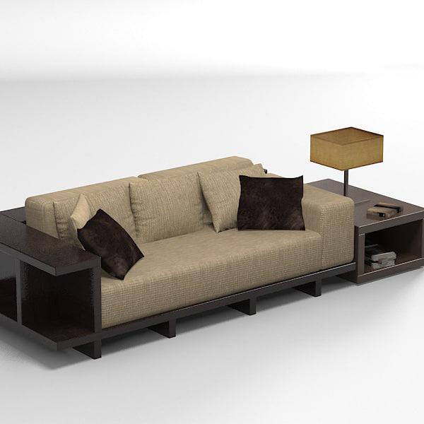 Esstisch Sofa Modern ~ misuraemme modern sofa 3ds