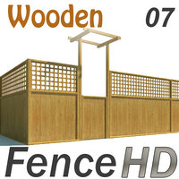 Fence - Wooden Fence