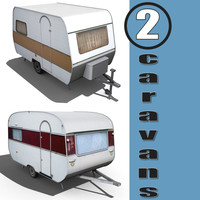 2 Old Caravans