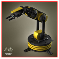 Robotic arm (HIGH detail)