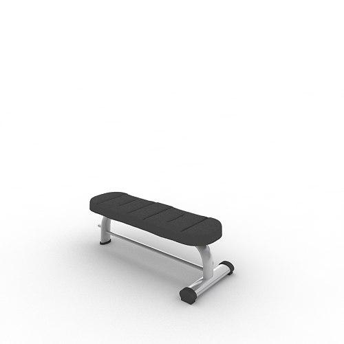 Flat Bench A992_FBX