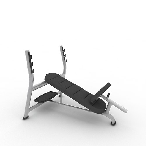 Olympic Incline Bench A998_FBX