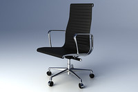 Eames Aluminium Group Executive Chair