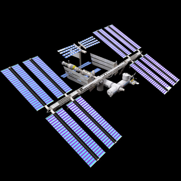 International Space Station 3D Model - Pics about space