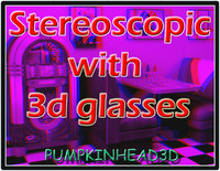 free stereoscopic picture 3d model