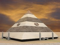 3d model pyramid apophis
