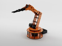 armbot arm bot 3d 3ds