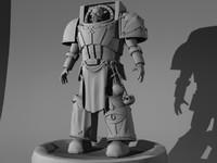 3d model chaos terminator