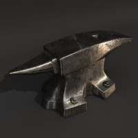 smith anvil 3d model