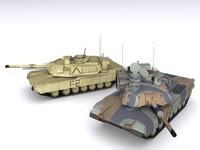 maya tank m1a2 abrams