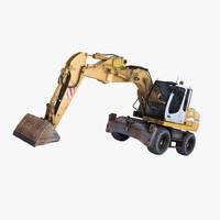 maya liebherr excavator