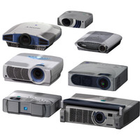 max 7 projectors