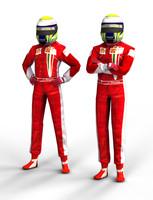 F1 Driver Felipe Massa