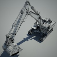 High Poly Digger