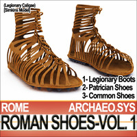Ancient Roman Shoes Vol. 1 [Caligae-Calcei 1-2]