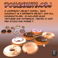 obj doughnut dough