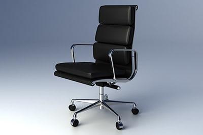 Eames Softpad Group Executive Chair