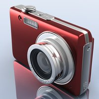 photocamera generic 3d model