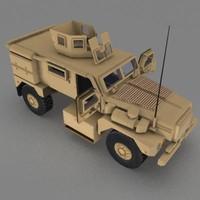 3d army car 4x4