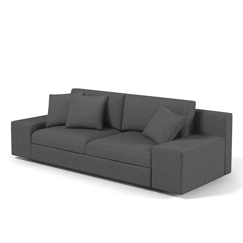 Elegant Models Of Contemporary Sofa Sofa Contemporary Modern 3d Model