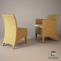3d chair armchair royal model