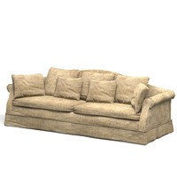 classic sofa aged antique soft