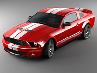 3ds max mustang shelby cobra