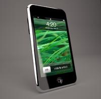 ipod touch 2g 3g 3d model