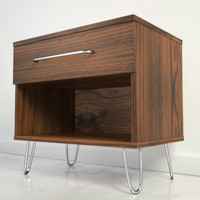 3d model midcentury nightstand