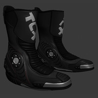 3d boot model