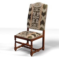 traditional classic dining chair stool