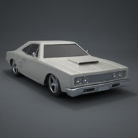 Classic 70s Car