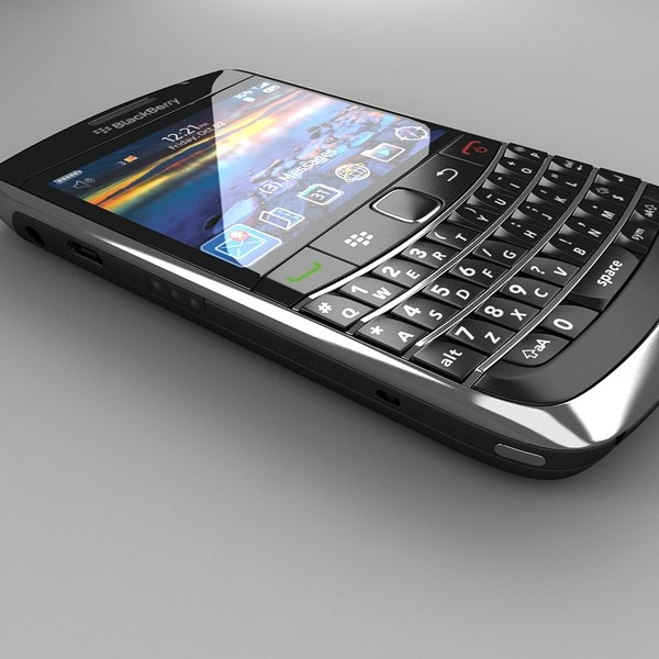 blackberry bold 9700 3d model - BlackBerry Bold 9700... by Artem_Shvetsov