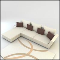 corner sofa designs 3d max