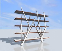 3d florest shelf