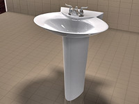 TOTO Pacifica Sink and American Standard Faucet Set