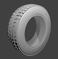 Simple_Tire (Medium Poly)