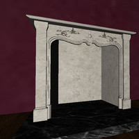 Victorian Style Fireplace