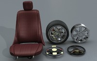 Car Accessories - Seat, Steering and Wheels