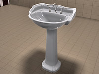 St Thomas Creations Sink and Brasstech Faucet Set Vol 2